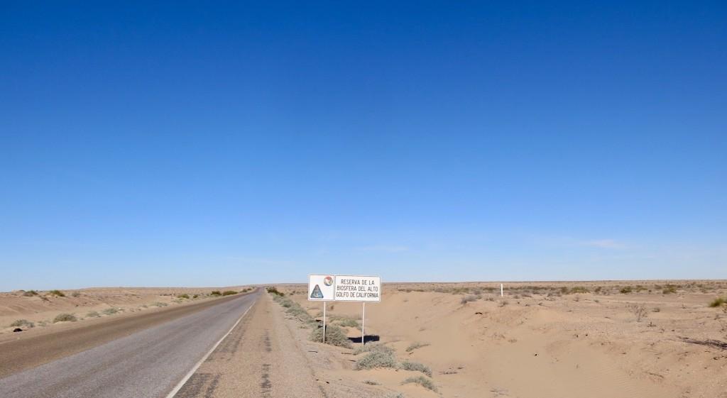 Onderweg naar El Golfo de Santa Clara