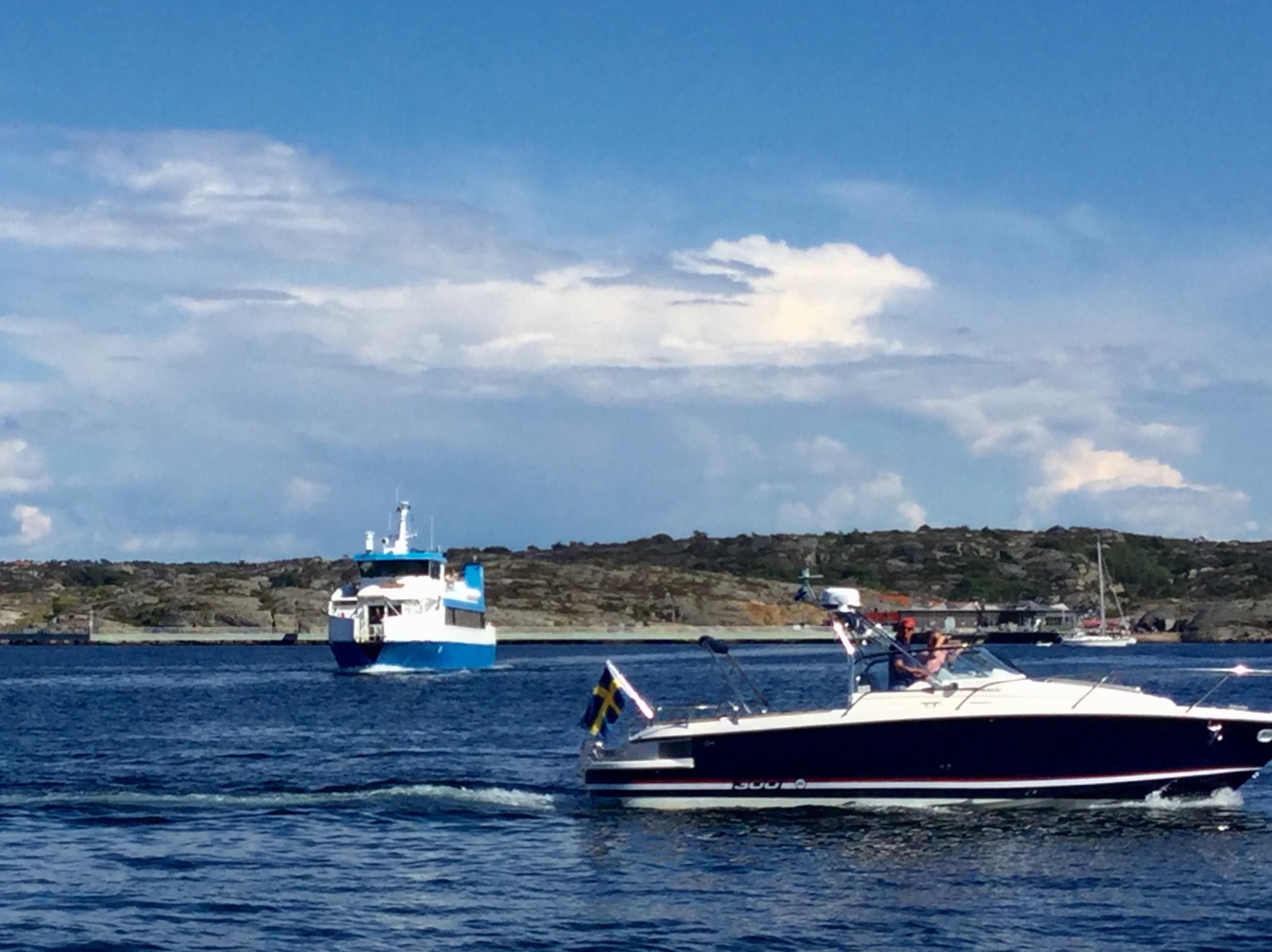 Veerboot naar Gullholmen